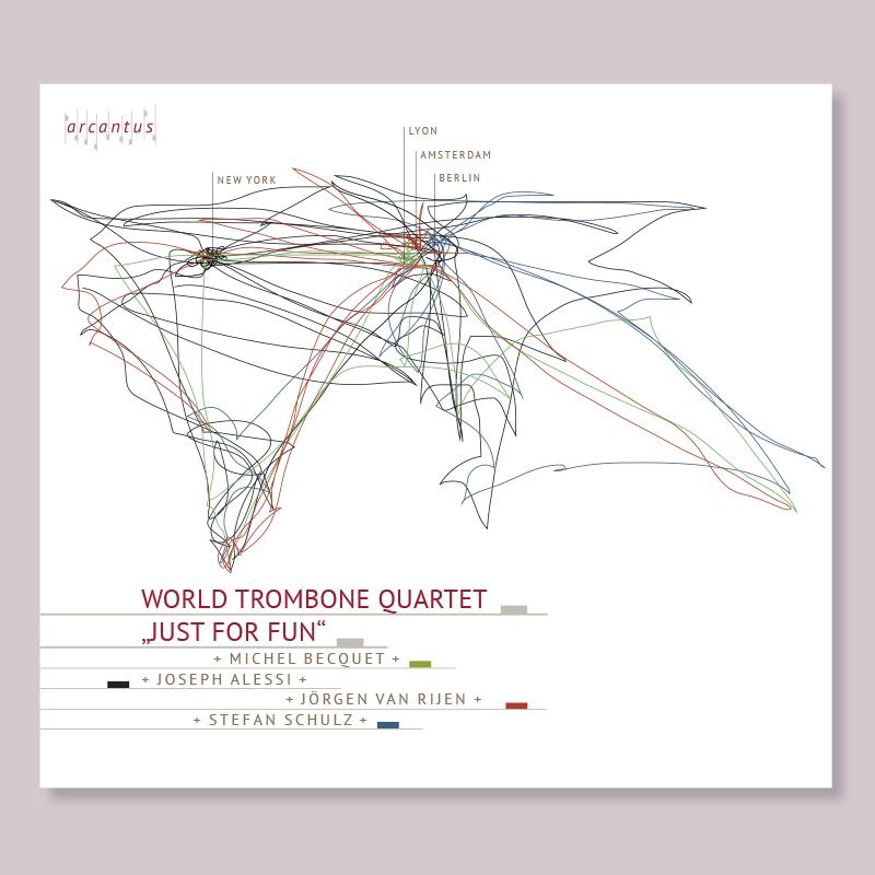 CD-Cover World Trombone Quartet
